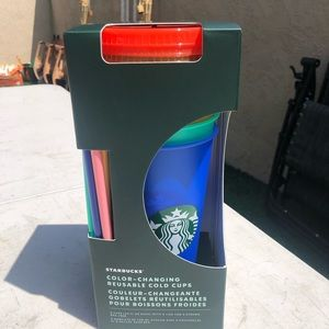 Starbucks Color Changing Cups - Summer 2020